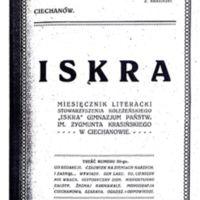 1922 Iskra nr 3 okładka.jpg