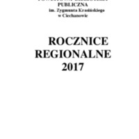 Rocznice Regionalne - 2017