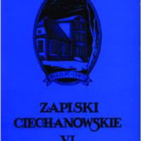 Zapiski Ciechanowskie VI.pdf