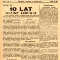 Głos Ciechanowa, 1954, Nr 5