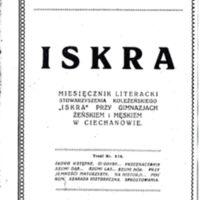 1922 Iskra nr 8 i nr 9 okładka.jpg