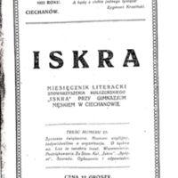1923 Iskra nr 21 okładka.jpg