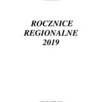 Rocznice Regionalne - 2019