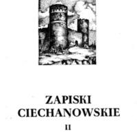 Zapiski Ciechanowskie II.pdf