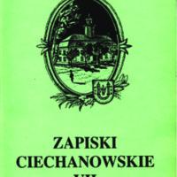 Zapiski Ciechanowskie VII.pdf