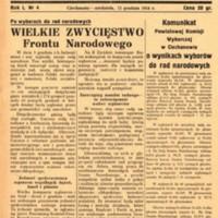 Głos Ciechanowa, 1954, Nr 4