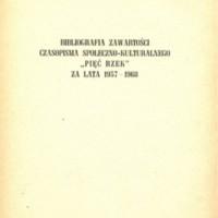 Bibliografia (1963-1968)