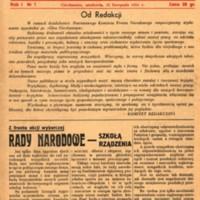 Głos Ciechanowa, 1954, Nr 1