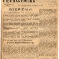Kronika Ciechanowska - Rok  3