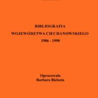 Bibliografia Województwa Ciechanowskiego. [T. 3], 1986-1990.