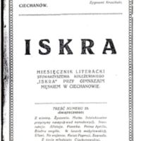 1924 Iskra nr 25 okładka.jpg